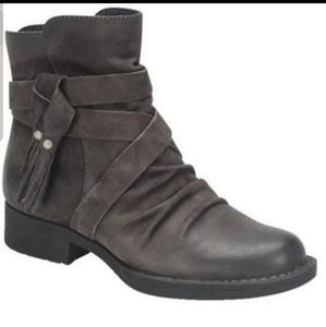 New! Born Eaton Ankle Bootie in Dark Gray